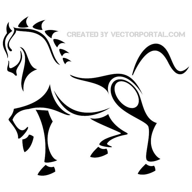 Horse Racing clipart animal tail Tattoo about  Tattoo Horse