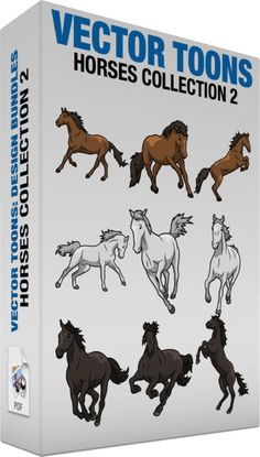 Horse Racing clipart animal tail Collection Dark Dark Horse Products