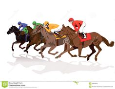 Horse Racing clipart christmas ClipartFest free racing horses Horse