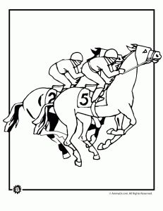 Horse Racing clipart fast animal #3