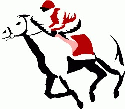 Horse Racing clipart race night Saturday Races Blackridge Night 10th