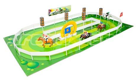 Horse Racing clipart racetrack #3