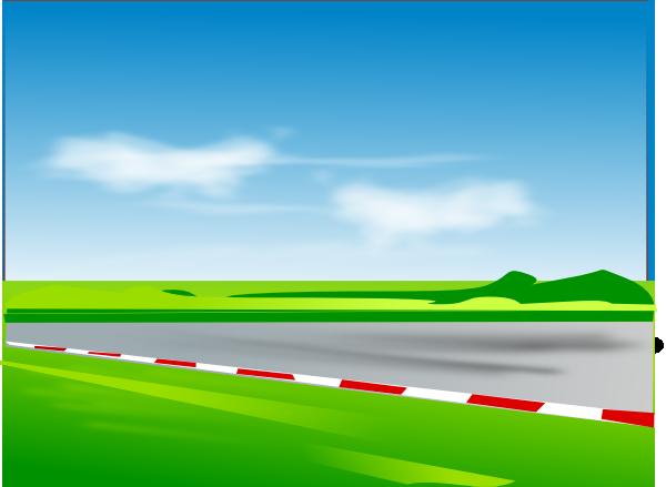 Horse Racing clipart racetrack #7