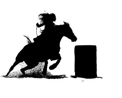 Horse Racing clipart western Pinterest best Images Silhouette on