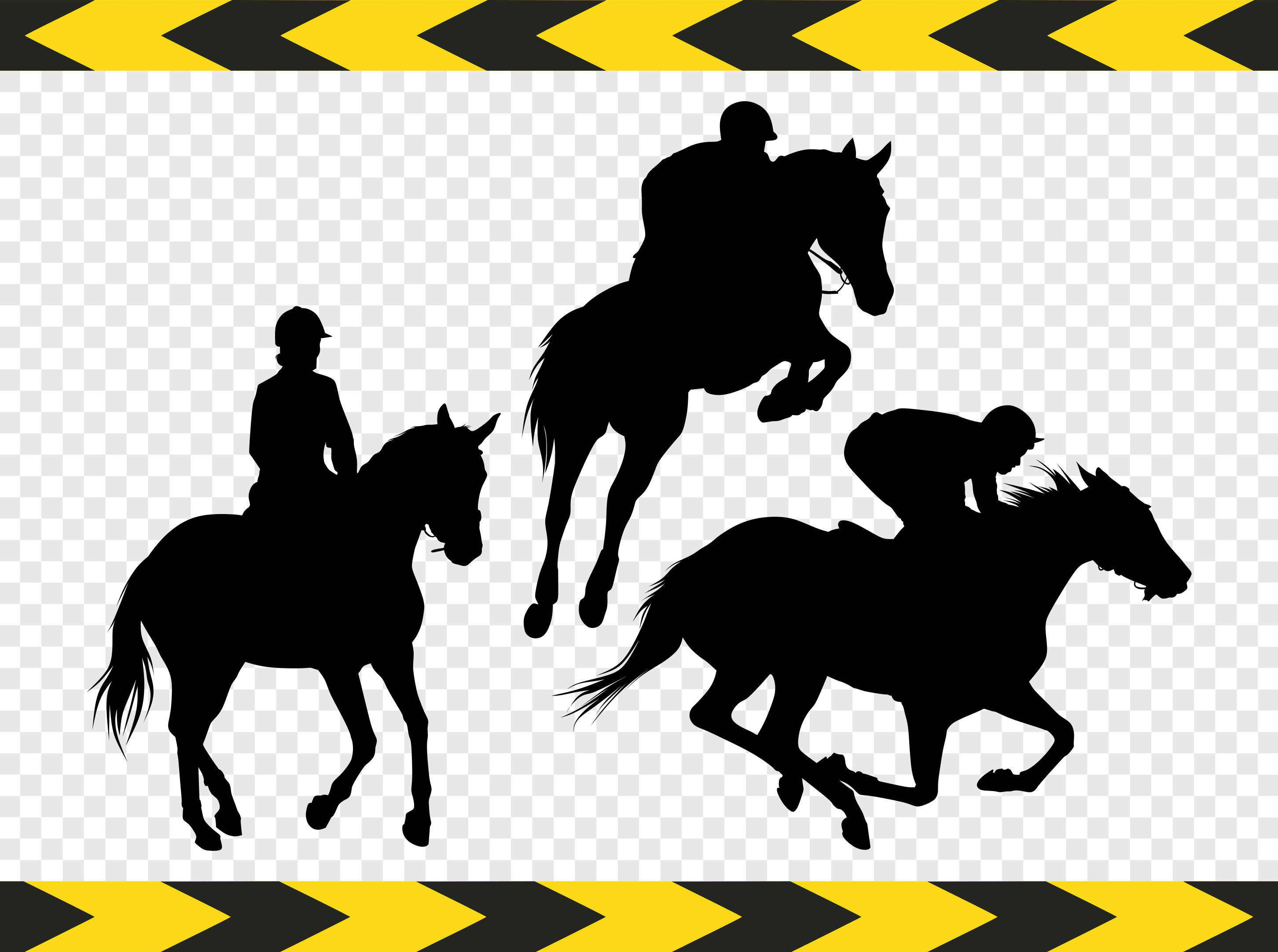 Horse Racing clipart western Clipart  files a digital