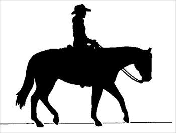 Horse Riding clipart cowboy horse Ideas on free silhouette silhouette