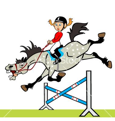Horse Riding clipart horse jumping Cartoon cartoon  Horses horse