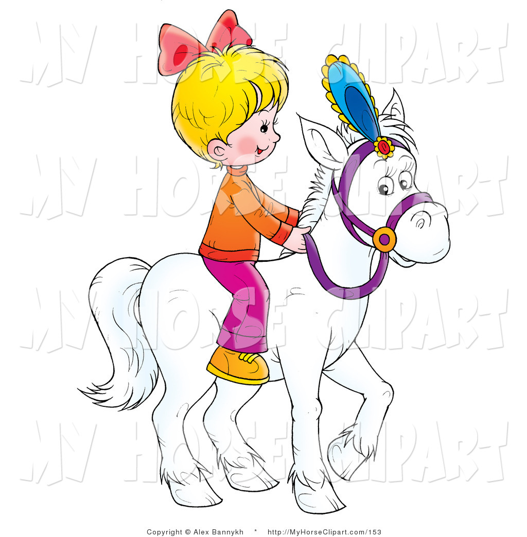 Horse Riding clipart pony ride Girl images riding horse Clipart
