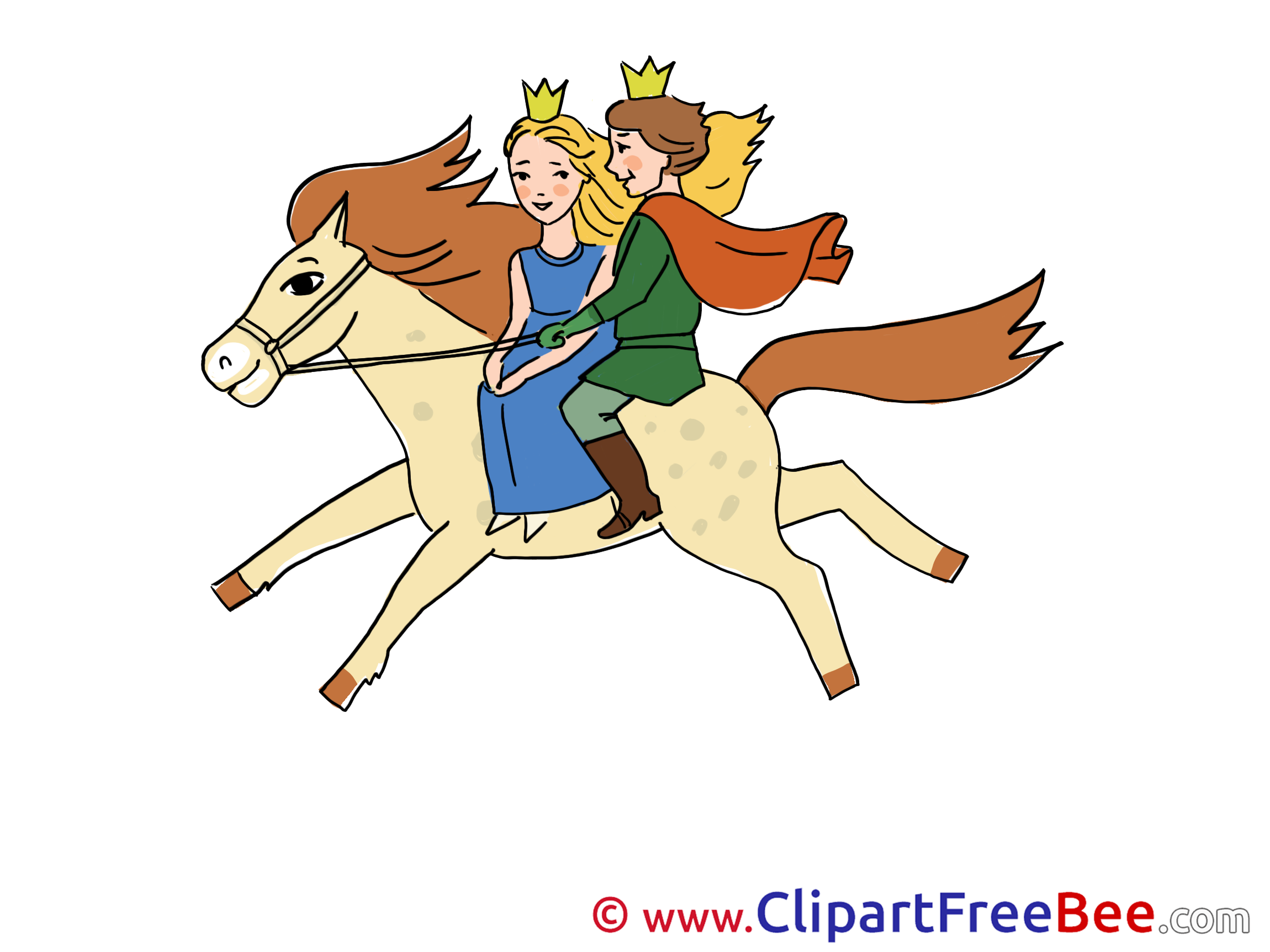 Horse Riding clipart prince Prince Tale printable Fairy Princess