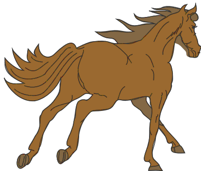 Anime clipart horse rider Public Free Free 1 of