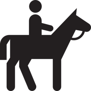 Horse Riding clipart stickman Horseback com at Clip Horseback