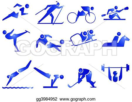 Horse Riding clipart swim Kayaking icons skidding riding Illustration