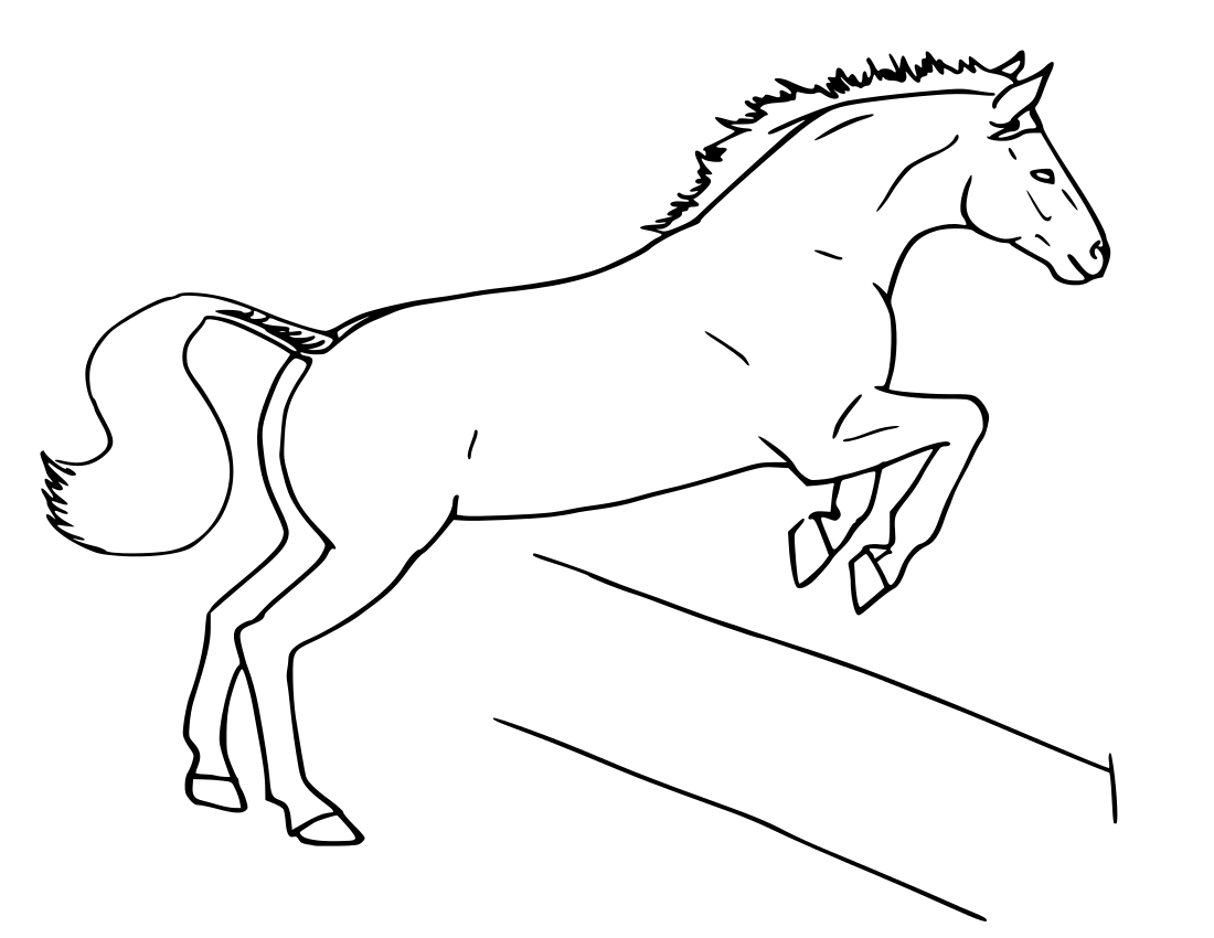 Fence clipart horse fence #12