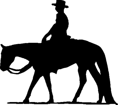 Horse Riding clipart western pleasure #8