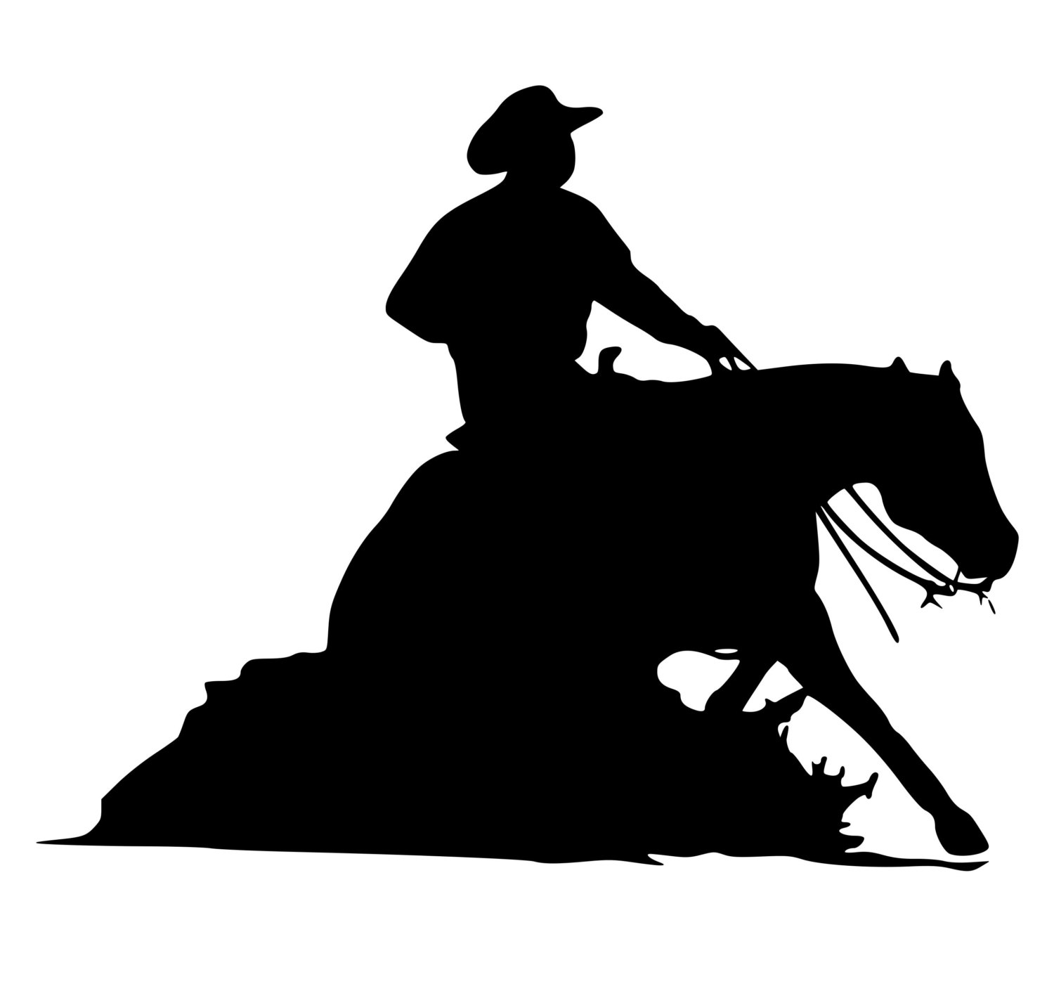 Horse Riding clipart western pleasure #11