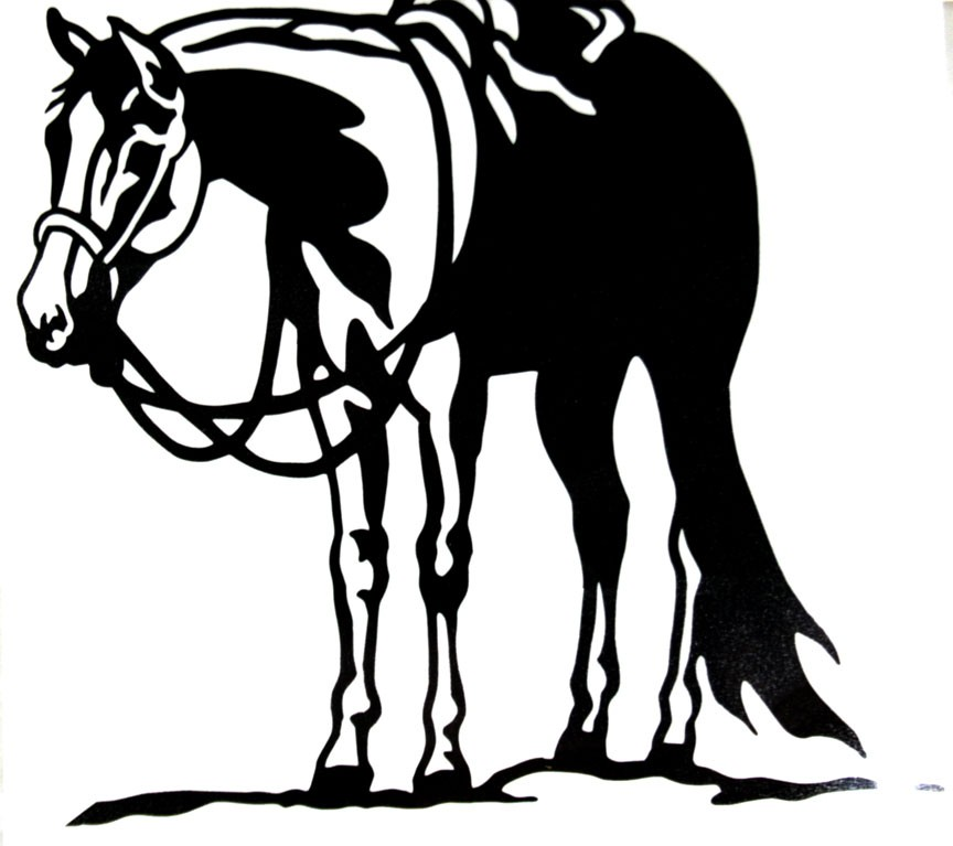 Horse Riding clipart western pleasure #12