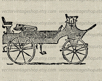 Carriage clipart antique shop Art Graphic Vector Vector Use