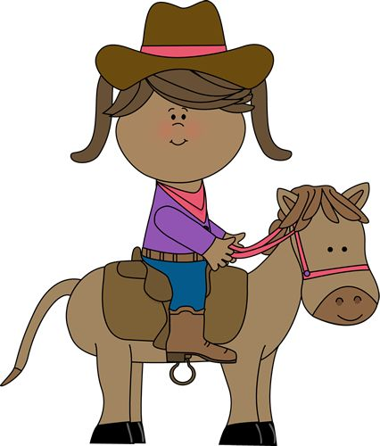 Western clipart little cowboy Com #29034 Clipart Horse Riding