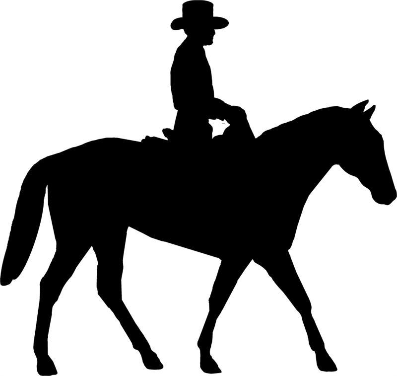 Cowboy clipart riding horse Com Clipart Clipart Horse Riding