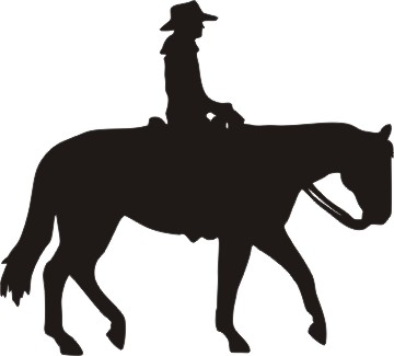 Horse Riding clipart western pleasure #1