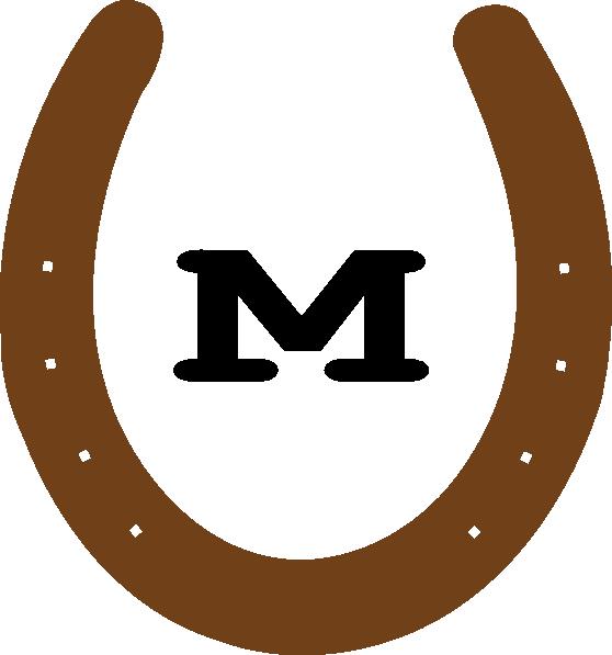Horseshoe clipart brown Brown Brown Horseshoe clipart Clipart
