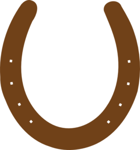 Horseshoe clipart brown Clipart Brown Panda Horseshoe Clipart