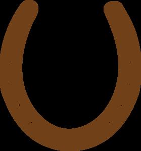 Horseshoe clipart brown Clipart brown%20horseshoe%20clipart Panda Horseshoe Free