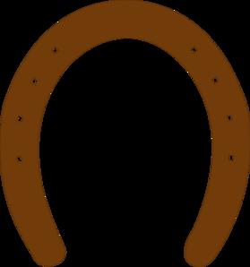 Horseshoe clipart brown Horse online Horse royalty Shoe