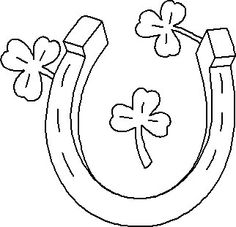 Horseshoe clipart lucky Farms Engraving Clip Lucky Horseshoe