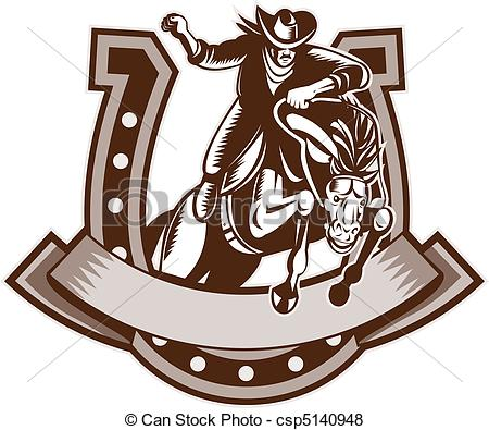 Horseshoe clipart rodeo 3 style and 767 Rodeo
