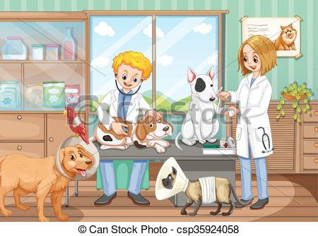 Pet clipart animal hospital Of hospital  the the