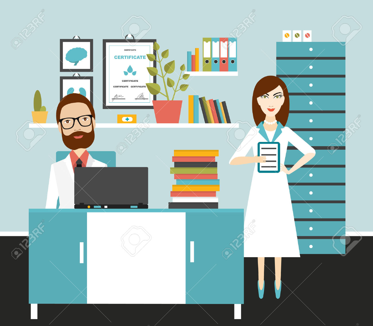 Treatment clipart doctor's office Doctor clipart job office job