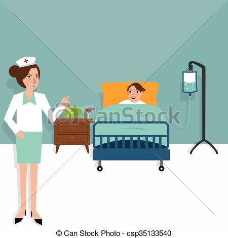 Room clipart hospital room #9