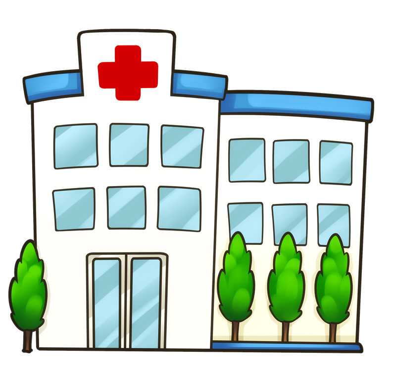 Bulding  clipart medical clinic Building Building com Hospital medical