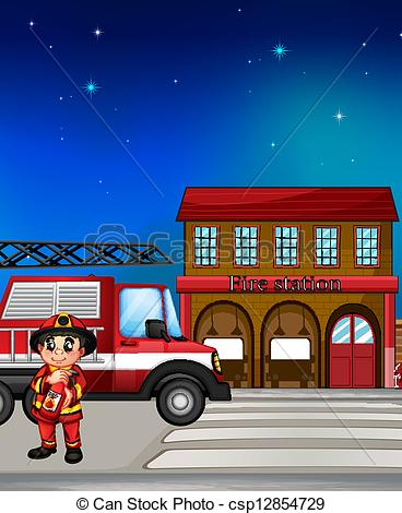 Community clipart vector Free clipart collection Fire Town