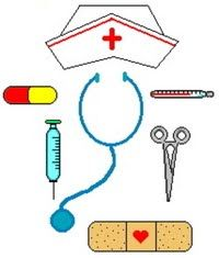 Syringe clipart medical instrument Posted Clip frenzy Nurse Funny