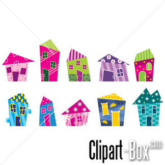 Hosue clipart abstract (68+) Clipart House abstract houses