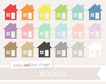 House clipart banner House Shape Cottage Digital Moving