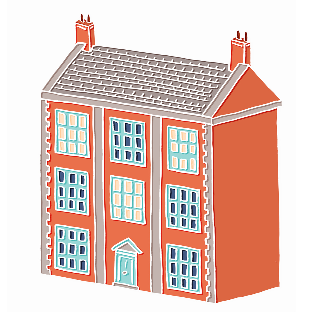 House clipart big and small Little – House Big House
