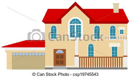 Hosue clipart big house House realistic big nice big