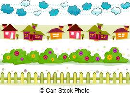 Garden clipart garden border #2