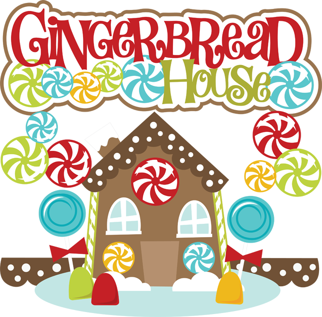 Hosue clipart border Com Gingerbread House Clipart Free