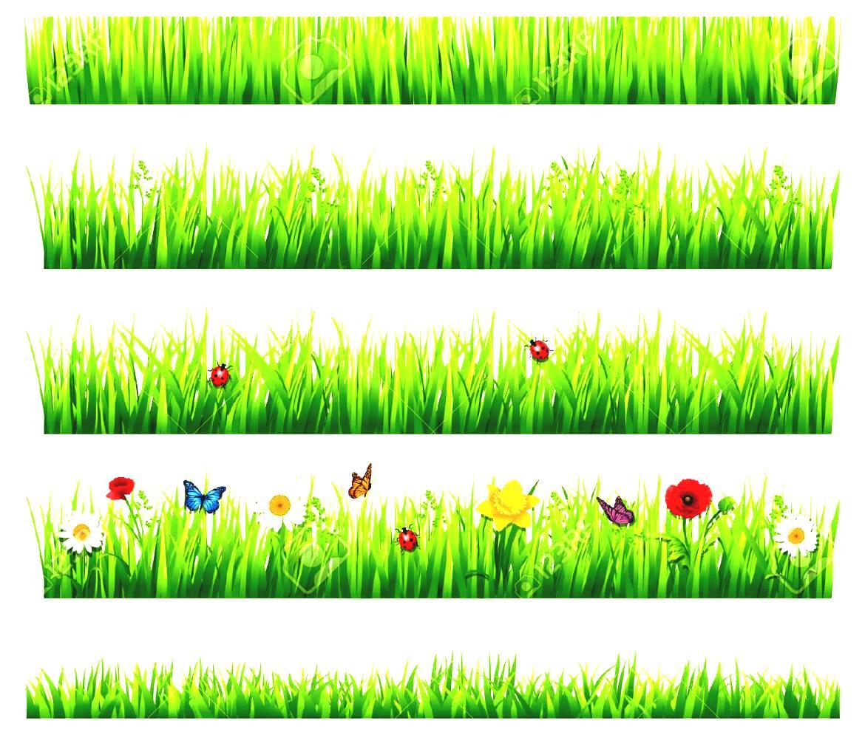 Hosue clipart border Garden house art clipart Flower