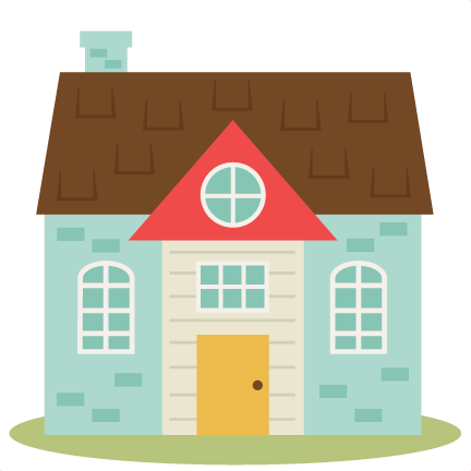 Hosue clipart cute House cut Cute svgs free