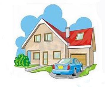 Hosue clipart driveway #14