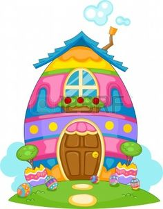 Hosue clipart easter bunny And on bunny png Clip