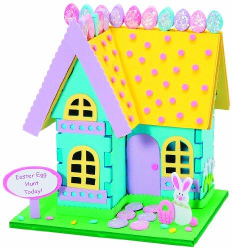 Hosue clipart easter bunny Bunny 3D Bunny House Craft