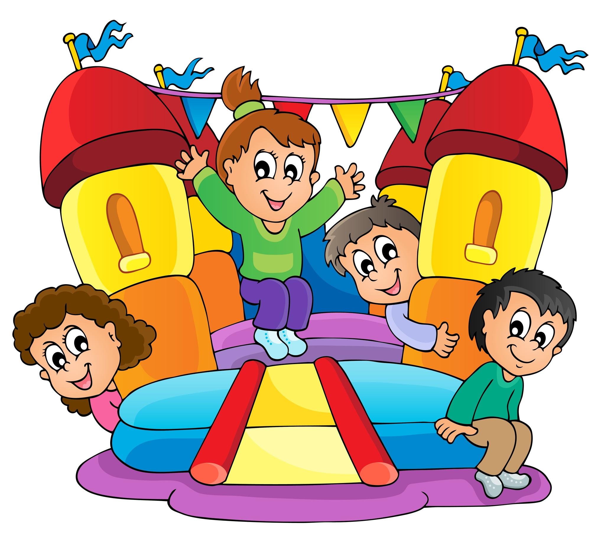 Racing clipart happy kid Art Clip House bouncing clip