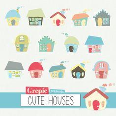 Drawn hosue cute Use SALE  vector clipart