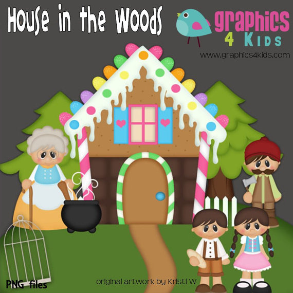 Hosue clipart hansel and gretel Gretel in and Digital and
